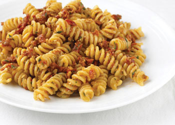Pasta with Sun-dried Tomato Pesto