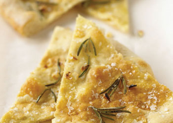 Pizza Bianca with Rosemary and Garlic