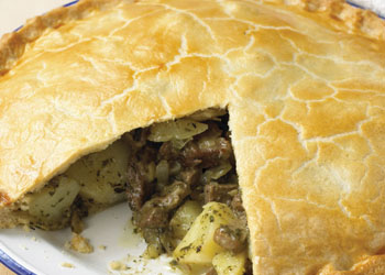 Lamb and Potato Pie