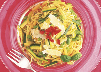Pasta Pesto with Vegetables