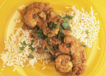 Shrimp and Tomato Curry