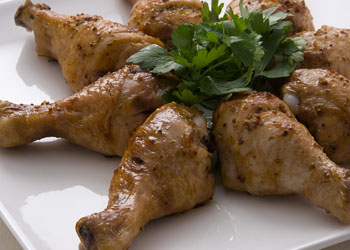 Honey Mustard Barbecued Chicken