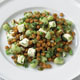 Lentil, Fava Bean, and Feta Salad