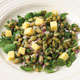 Flageolet Bean and Smoked Cheese Salad