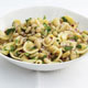 Pasta with Flageolet Beans, Parsley, and Lemon