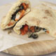 Calzone with Peppers, Capers, and Olives