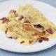 Cr�pes with Blue Cheese and Bacon