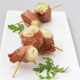 Scallops Skewered with Prosciutto