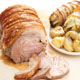 Roast Pork with Bacon and Endive