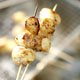 Grilled Scallop Skewers with Pineapple-Curry Relish