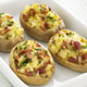Potato Skins with Cheddar and Bacon