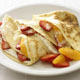 Strawberry and Orange Cr�pes