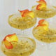 Sparkling Wine Jellies with Passion Fruit