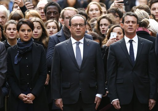 Francois Hollande 2015 Paris attacks