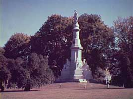 site of the Gettysburg address