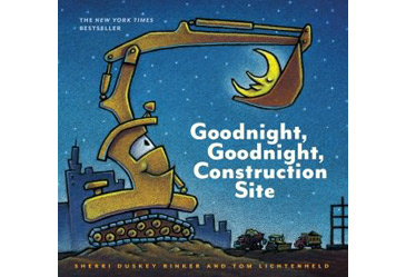 award winning childrens book, goodnight construction site