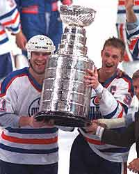 Gretzky and Messier