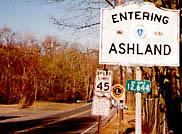 Ashland, Framingham, and Natick