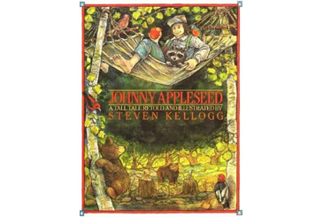 Halloween children's book, Johnny Appleseed