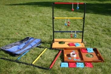 ladder ball, golf toss game