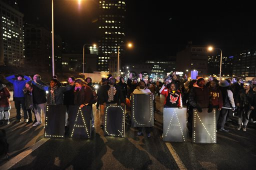 Laquan McDonald protests