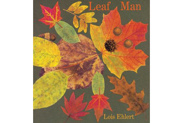 Halloween children's book, Leaf Man autumn story for kids