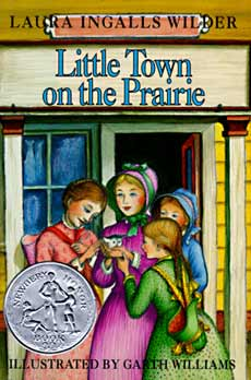 book cover for 'Little Town on the Prairie'