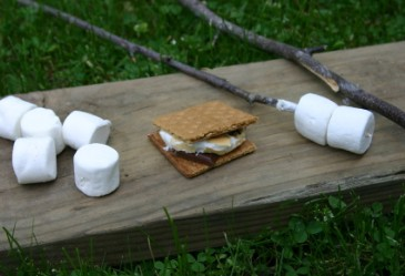 Smores,Marshmallows