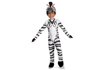 2012 Halloween costumes, Madagascar 3 Marty the zebra