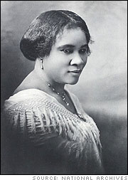 Madam C. J. Walker (Sarah Breedlove)