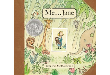 award winning childrens book, me jane