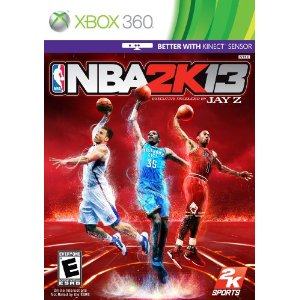 2012 video games for kids, nba 2k13