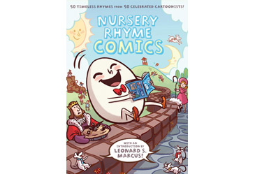award winning childrens book, nursery rhyme comics