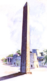illustration of an obelisk
