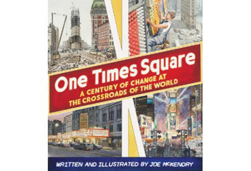 award winning childrens book, one times square