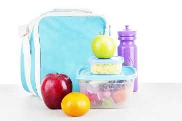 time saver, bagged school lunch