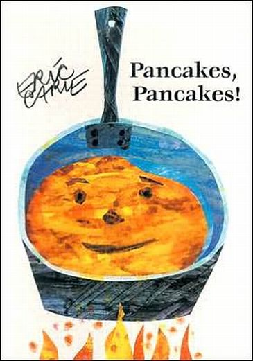 Pancakes Pancakes book cover