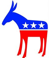 The Democratic Donkey and the Republican Elephant