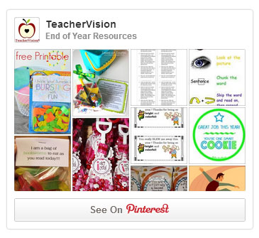 TeacherVision Pinterest Board: End of Year Resources