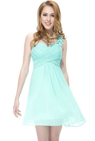 prom dress, pastel color