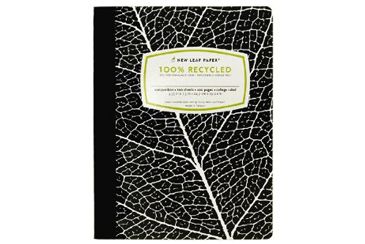 Back to School Folders and Notebooks, composition notebook with 100 percent recycled paper