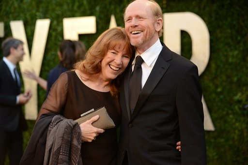 ron howard and wife cheryl in 2013