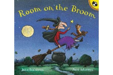 Halloween children's book, Room on the Broom