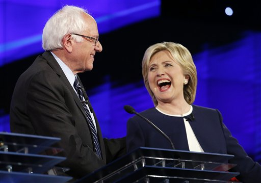 sanders clinton debate 2015