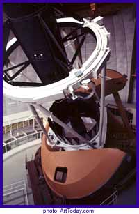 industrial sized telescope