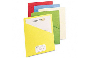 Back to School Folders and Notebooks, slash pocket folder with one pocket