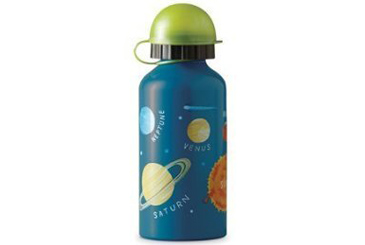 Green school lunch ideas, steel water bottle for kids