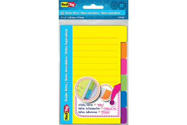 sticky note divider tabs