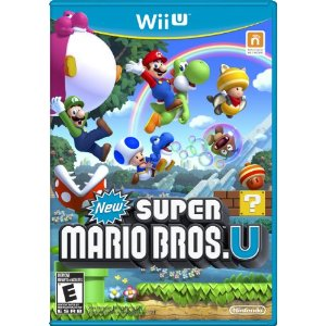 2012 video games for kids, super mario wii u