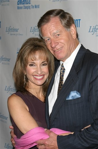 susan lucci with husband helmut huber in 2003